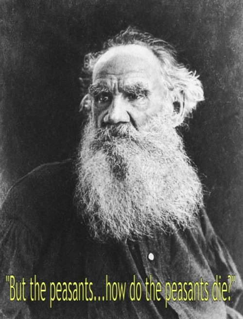 Leo Tolstoy (9 September 1828 – 20 November 1910),  Russian writer and philosopher