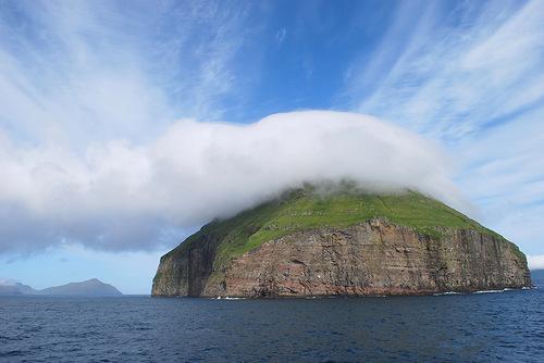 Island and cloud