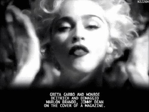 Cultural icon Madonna