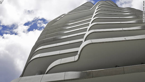 The greenest buildings of 2011. Marco Polo Tower - Hamburg, Germany