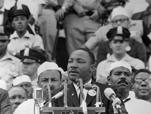Martin Luther King, Jr. History in photography Black and white
