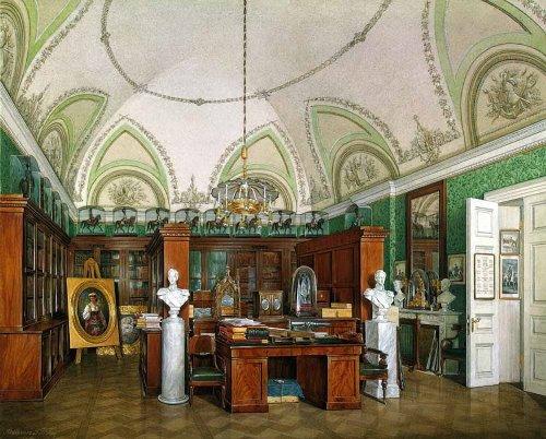 Hermitage Museum by Eduard Hau