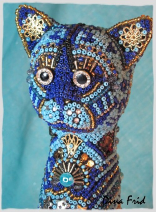 Mosaic art by Dina Frid