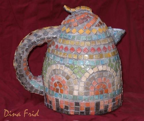 Старый чайник поделки 52