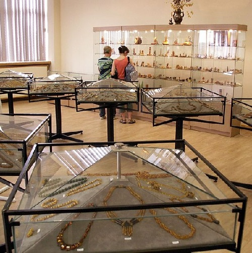 Museum of amber at the factory