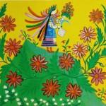 Naive painting by Maria Prymachenko