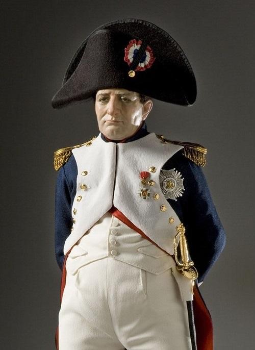 Napoleon Bonaparte. French Historical Figures by American artist George S. Stuart