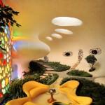 Nautilus House – unique house, design project by architect Javier Senosian, Naucalpan, Mexico