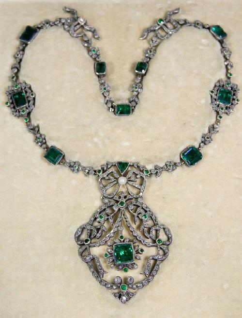 "Necklace. Beautiful jewelry by St. Petersburg true style ""Catherine Kostrigina"""