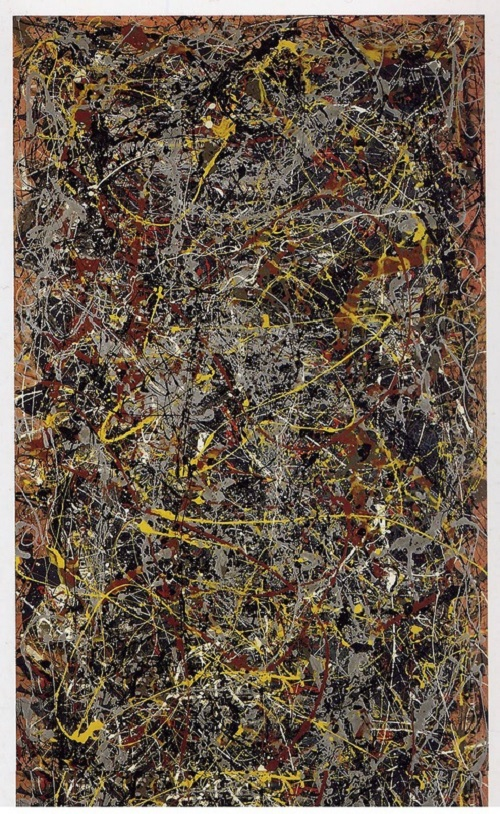 No. 5, 1948 by American painter Jackson Pollock, sold for $156.8