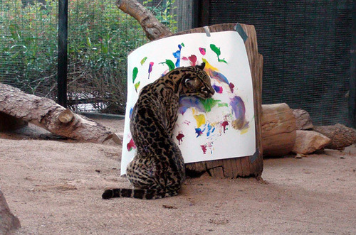 Ocelot Pedfut – Animal painters