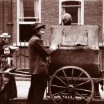Organ Grinder and Daughter, London