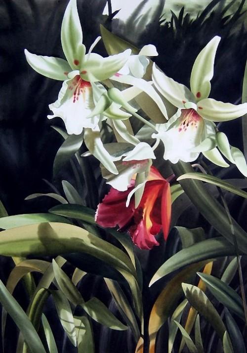 Painting by Filipino artist Alfred Galura