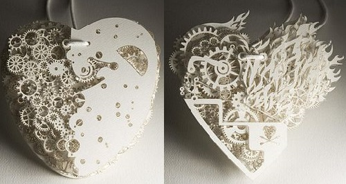 Filigree Hearts by Frank Tjepkema