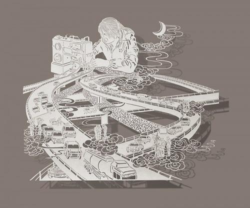 Paper art by Bovey Lee