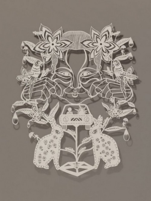 Paper art by Chinese artist Bovey Lee