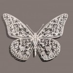 Butterfly. Paper art by Chinese artist Bovey Lee