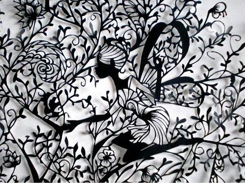 Paper lace by Japanese artist Hina Aoyama