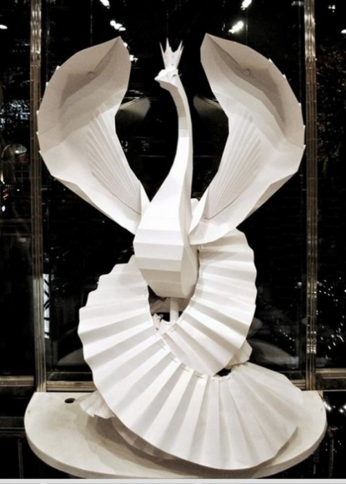 Paper sculptures by Julie Wilkinson
