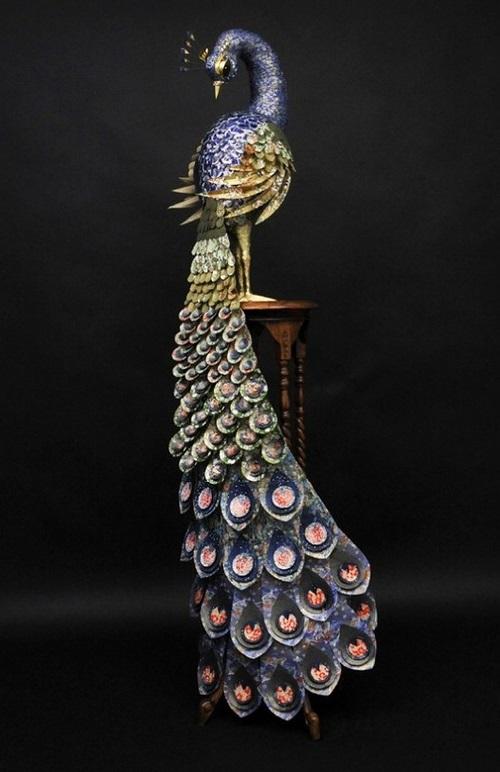 Paper sculptures by Julie Wilkinson