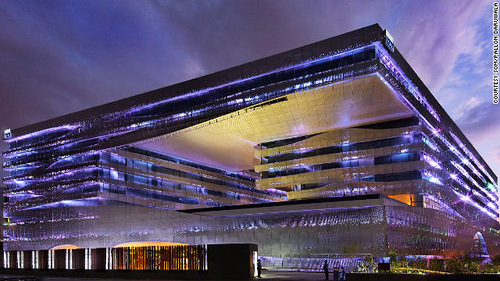 The greenest buildings of 2011. Park Hotel Hyderabad - Hyderabad, India