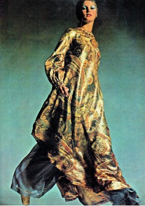 Pattie Harrison in Vintage Vogue