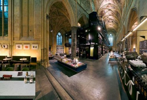 Polare Maastricht - Beautiful Bookstore in the old church in The Netherlands