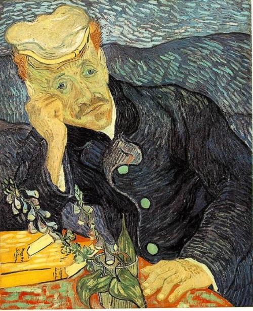 most expensive paintings ever sold. Portrait of Dr. Gachet by Dutch post-Impressionist painter Vincent van Gogh, $144.1