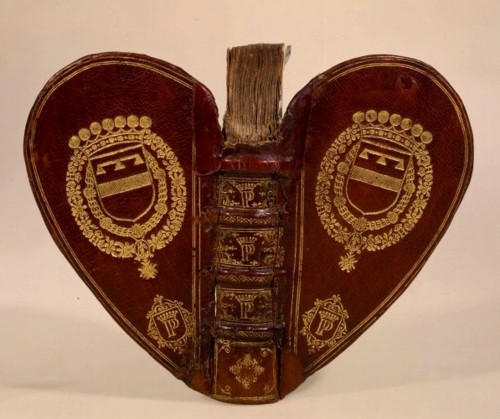 Heart shaped books
