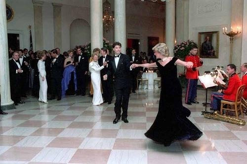 Princess Diana of Wales and John Travolta