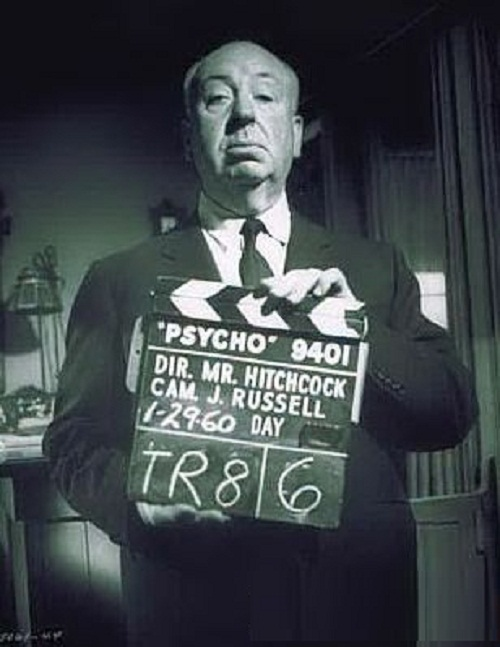 Hitchcock shower phobia