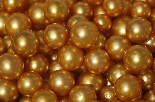 Rare Golden Pearls