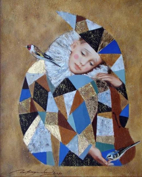Renaissance paintings by Pavel Pokidyshev
