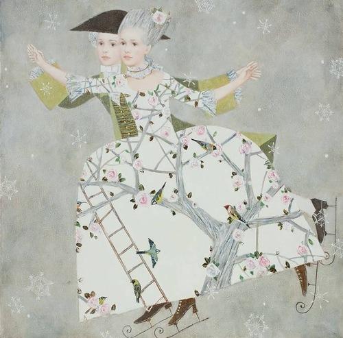 Renaissance painting by Russian artist Pavel Pokidyshev