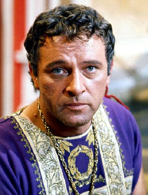 Cursed precious stones. Richard Burton (Cleopatra)