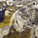 Rivers of Iceland from the air by Italian Photographer Sandro Santioli