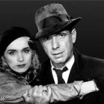 Rooney Mara and Humphrey Bogart