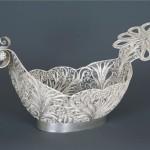 Silver Filigree tray