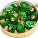 Dishes on Saint Patrick's