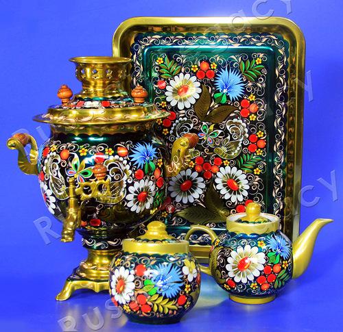 Samovar Traditional Russian 37