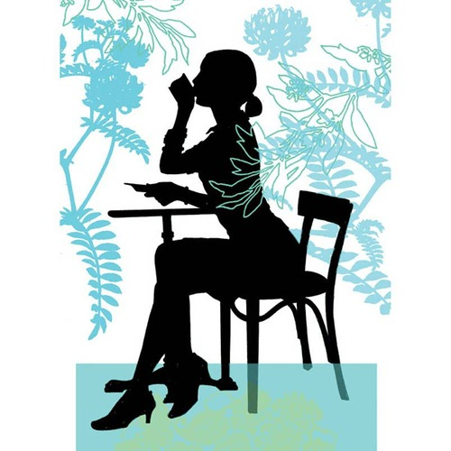 Silhouette paper art by French artist by Catherine de Seabra