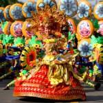 Colorful Sinulog festival in Cebu City