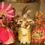 Impressive costumes of participants of Sinulog festival