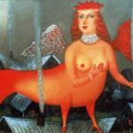 Naive painting – Sirin