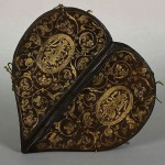 Small Prayer Book for All Occasions. Caspar Meuser (1550-1593). Photo of binding, Caspar Meuser made of leather with gold ornaments. The Book of Princess Anne, 1580