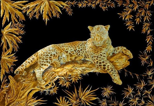 Straw Art by Valery Kozlov