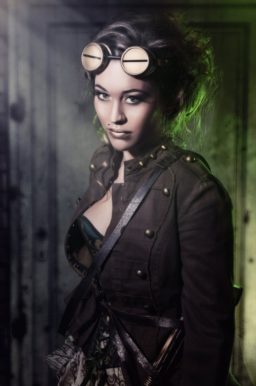Stylish steampunk fashion