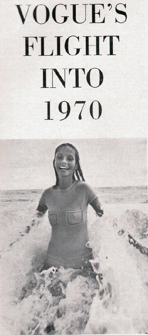 Summer time Hawaii. Pattie Harrison in Vintage Vogue