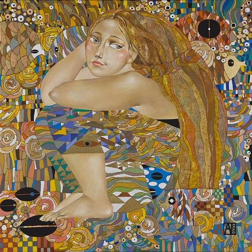 Tenderness. paintings by Akzhana Abdaliyeva