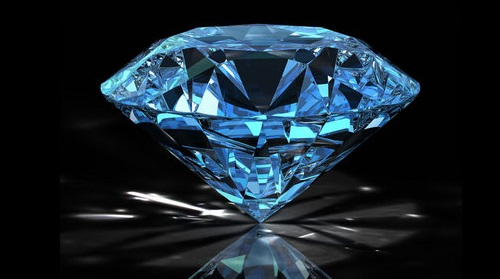 The Blue Diamond — A Source of Mystery